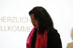 ReteDonne Momentaufnahme bei einer Rede