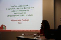 ReteDonne Momentaufnahme einer Rede von Alessandra Pantani