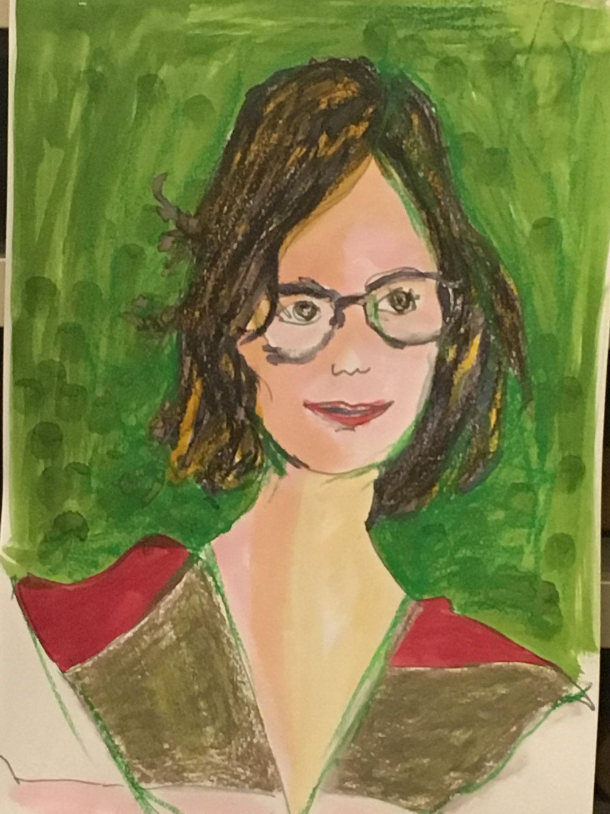 ReteDonne Bild aus dem Live Painting Workshop