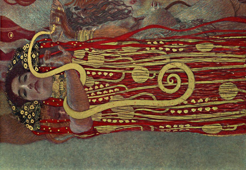 HIGHRES Particolare di Igea, Medicina Gustav Klimt