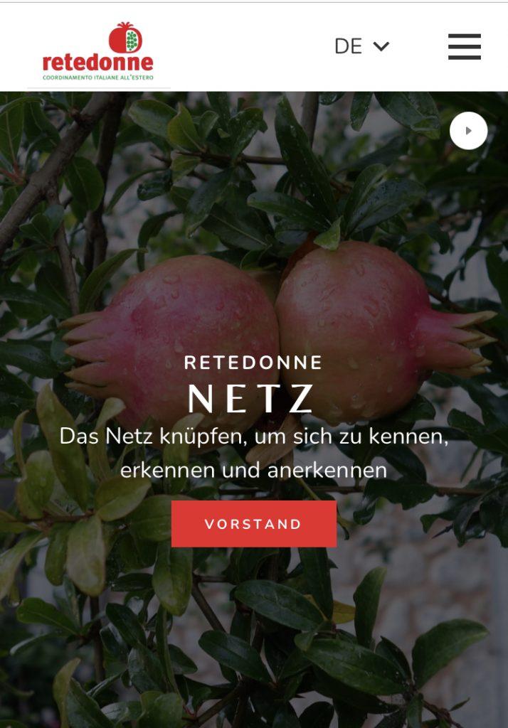 ReteDonne Web